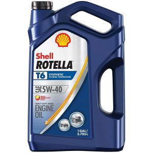 Rotella T6 oil
