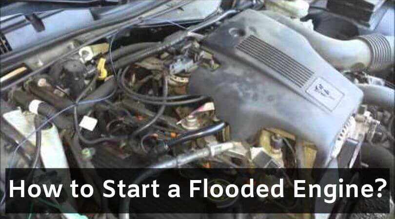 How to Start a Flooded Engine