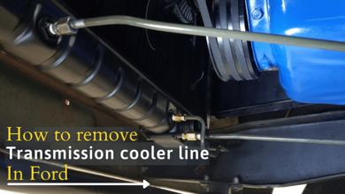remove transmission cooler