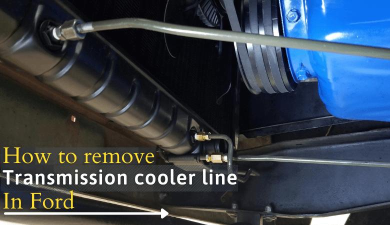 remove transmission cooler