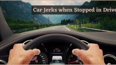 Car Jerks when Stopped in Drive